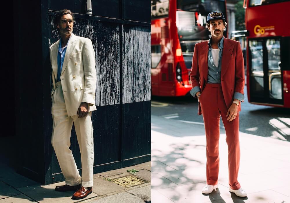 moda uomo estate vestire stile inglese