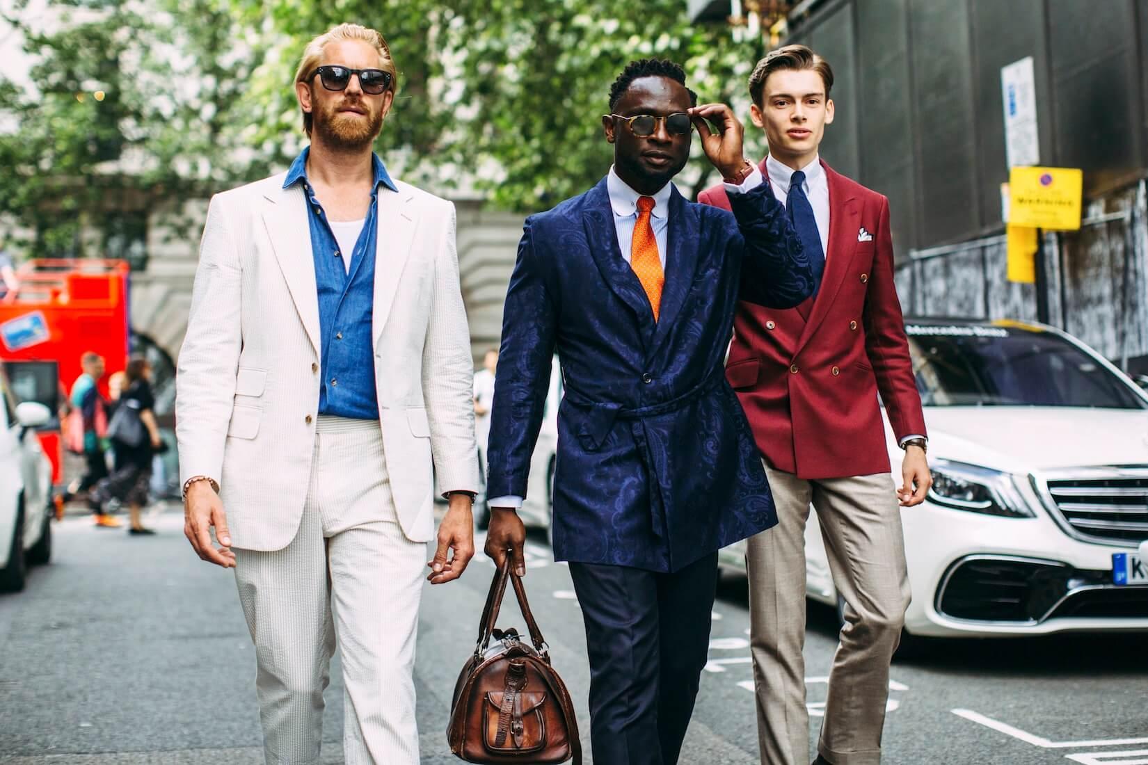 street style uomo 2019
