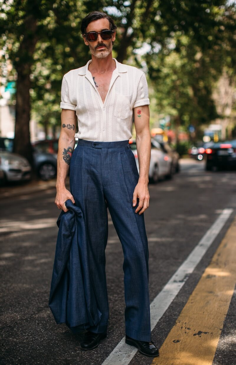 Street style uomo milano giugno 2019