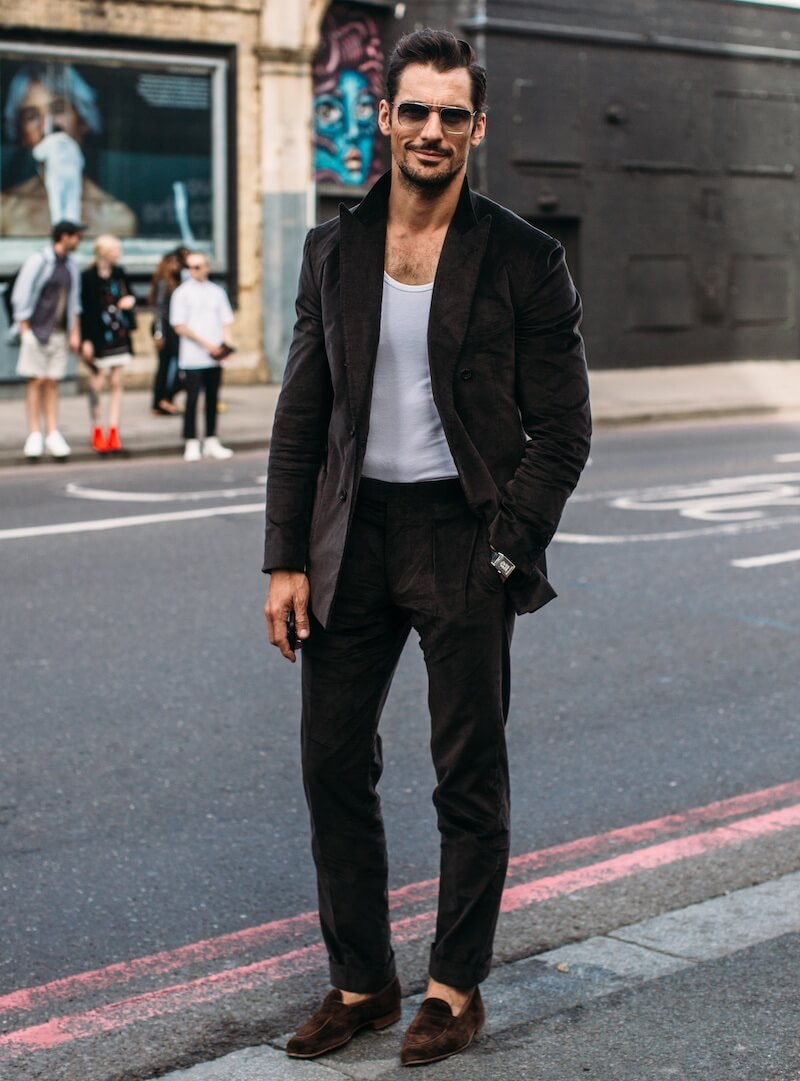 street style moda uomo estate 2020 david Gandy