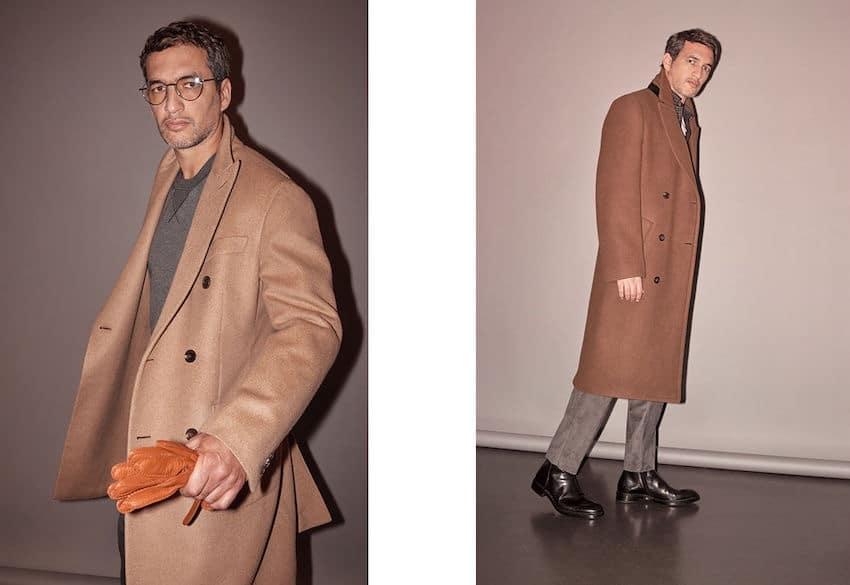 cappotto cammello uomo inverno 2019 2020