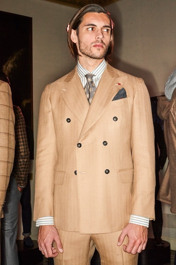 moda uomo abito inverno 2019 2020 Isaia