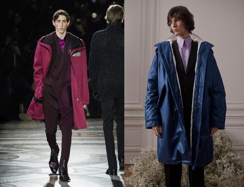 Parka moda uomo inverno 2019 2020