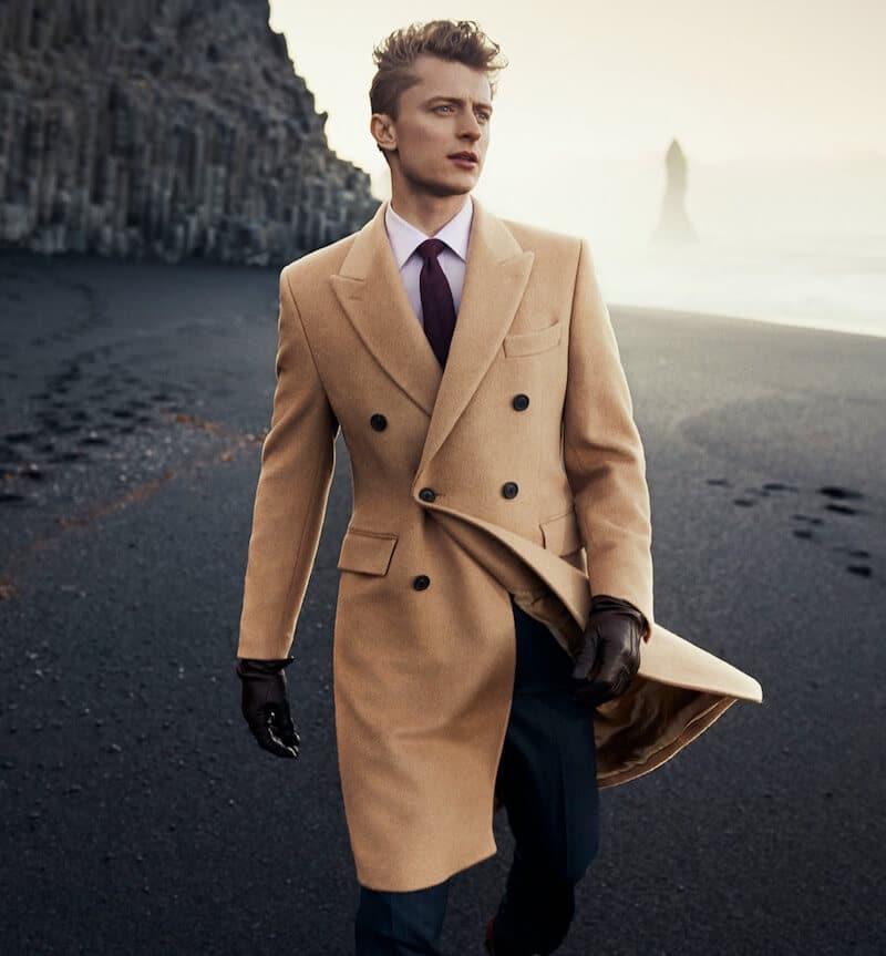 cappotto cammello moda uomo inverno 2020