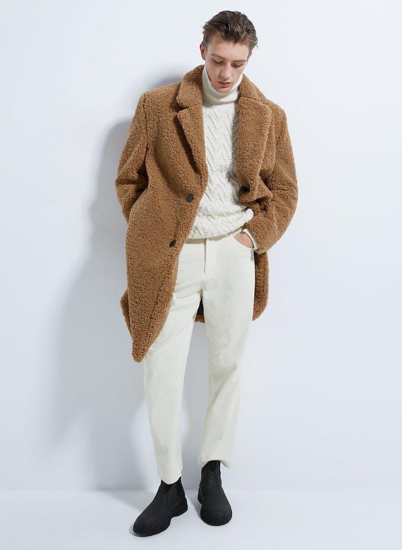 cappotto uomo montone zara 2019 2020