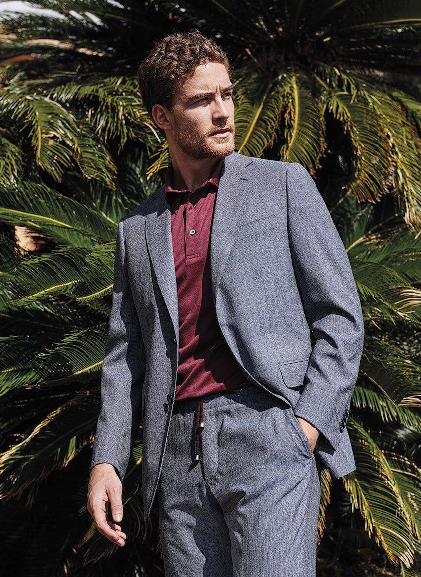 colori moda uomo estate 2020 abito grigio