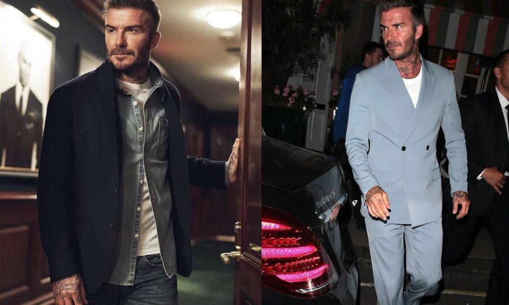 david beckham consigli di stile moda uomo