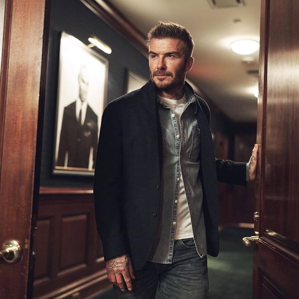 david beckham look 1 moda uomo