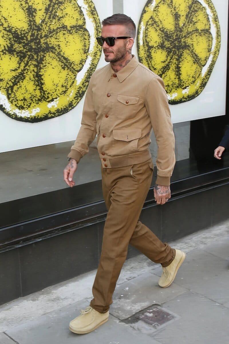 david beckham look moda